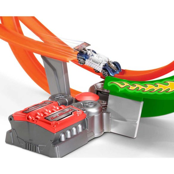 Pista Hot Wheels Power Shift Raceway cu 5 Masinute 4
