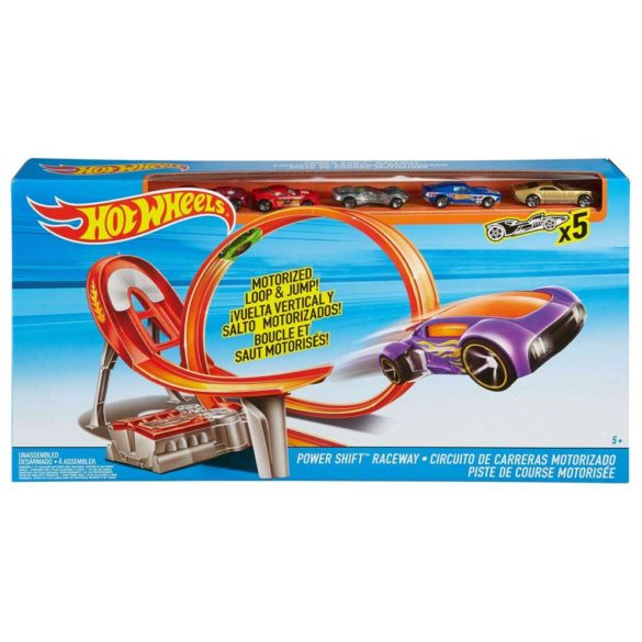 Pista Hot Wheels Power Shift Raceway cu 5 Masinute 5