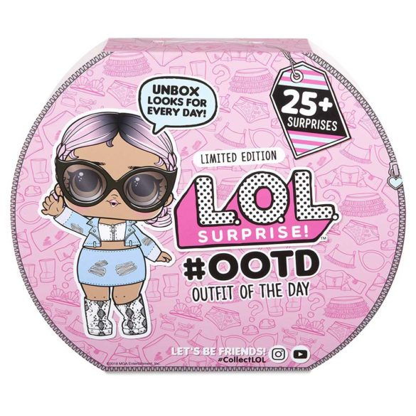 Set L.O.L. Surprise OOTD Outfit of the Day 1