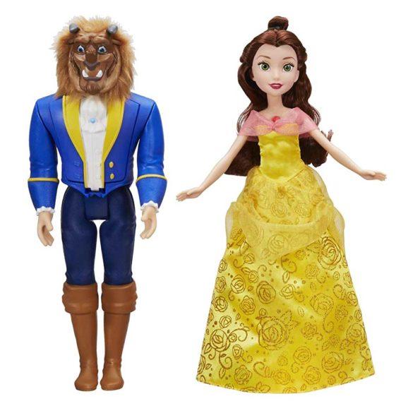 Set de doua Papusi Disney Belle si Bestia la Dansul Regal 1