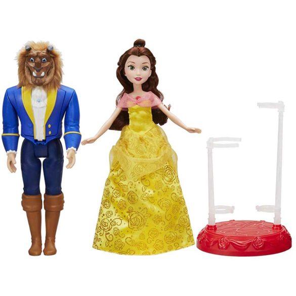 Set de doua Papusi Disney Belle si Bestia la Dansul Regal 2