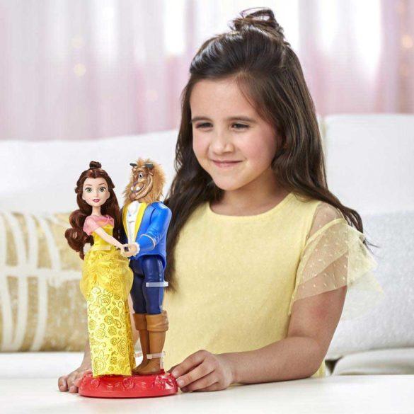 Set de doua Papusi Disney Belle si Bestia la Dansul Regal 4