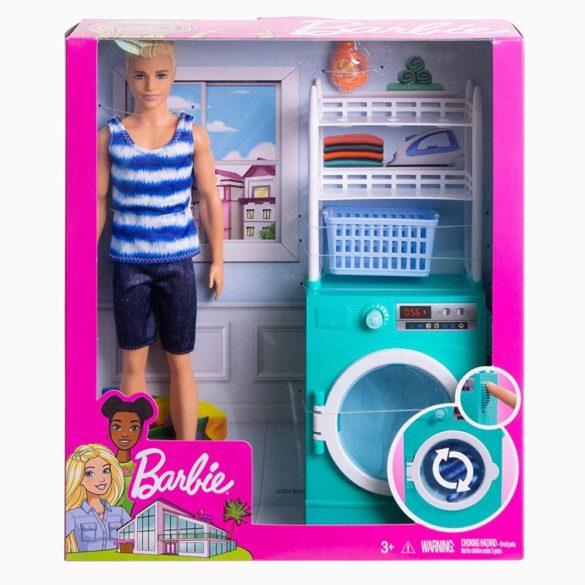 Barbie Papusa Ken si Masina de Spalat 10