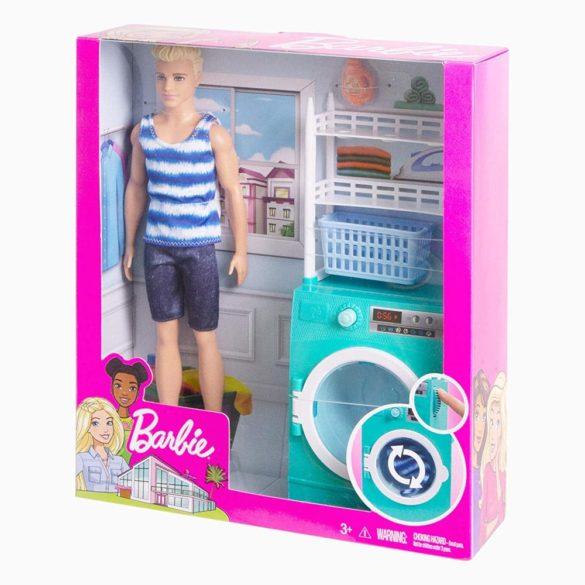 Barbie Papusa Ken si Masina de Spalat 11