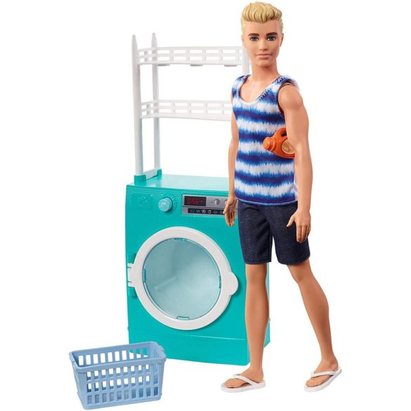 Barbie Papusa Ken si Masina de Spalat 9