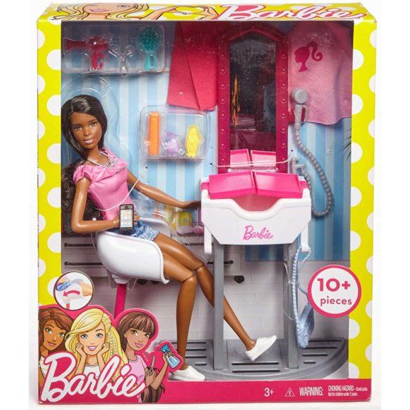Barbie Setul de Joaca la Salon cu Papusa 6