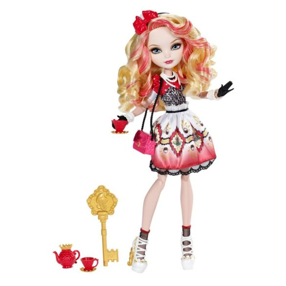 Ever After High Hat Tastic Papusa Apple White 1