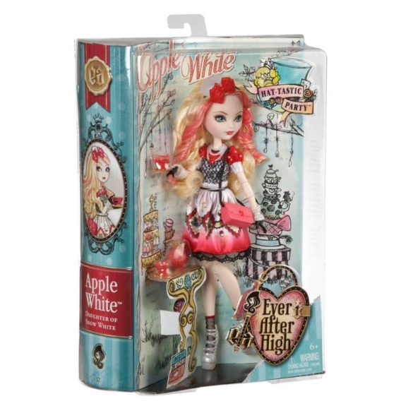 Ever After High Hat Tastic Papusa Apple White 6