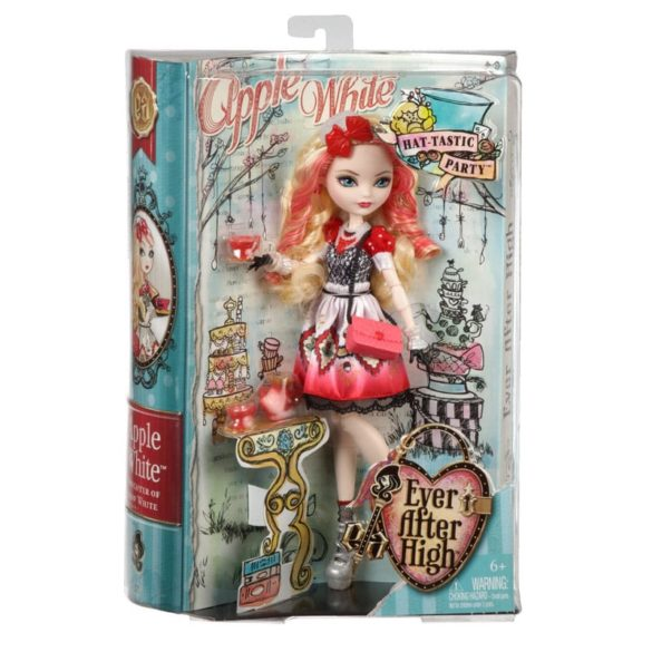 Ever After High Hat Tastic Papusa Apple White 7