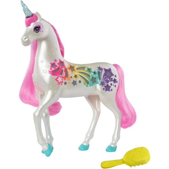 Figurina Mattel Barbie Dreamtopia Unicorn stralucitor cu sunete si lumini 1