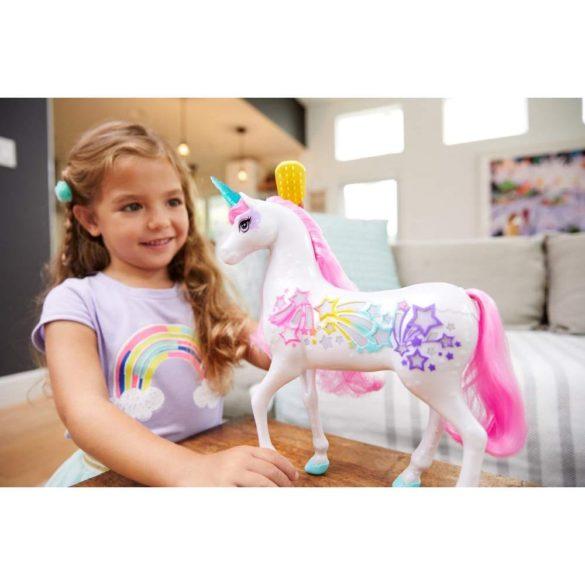 Figurina Mattel Barbie Dreamtopia Unicorn stralucitor cu sunete si lumini 6