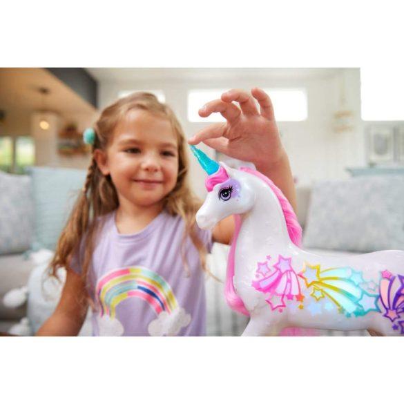 Figurina Mattel Barbie Dreamtopia Unicorn stralucitor cu sunete si lumini 7