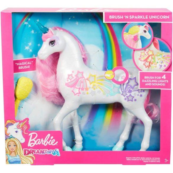 Figurina Mattel Barbie Dreamtopia Unicorn stralucitor cu sunete si lumini 8