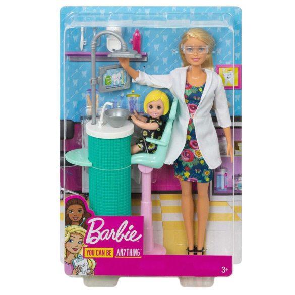 Papusa Barbie Dentist si Set de Joaca 6