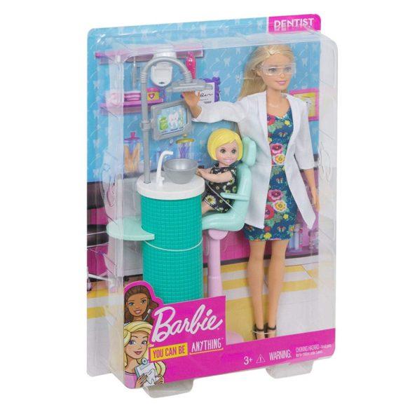Papusa Barbie Dentist si Set de Joaca 7