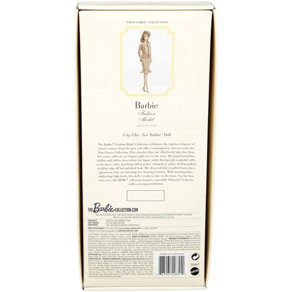 Papusa Barbie Fashion Model de Colectie City Chic Silkstone Gold Label 8