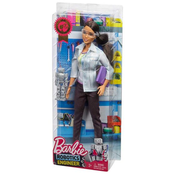 Papusa Barbie Inginer Robotica Robotics Engineer 9