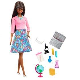 Papusa Barbie Profesoara cu Accesorii