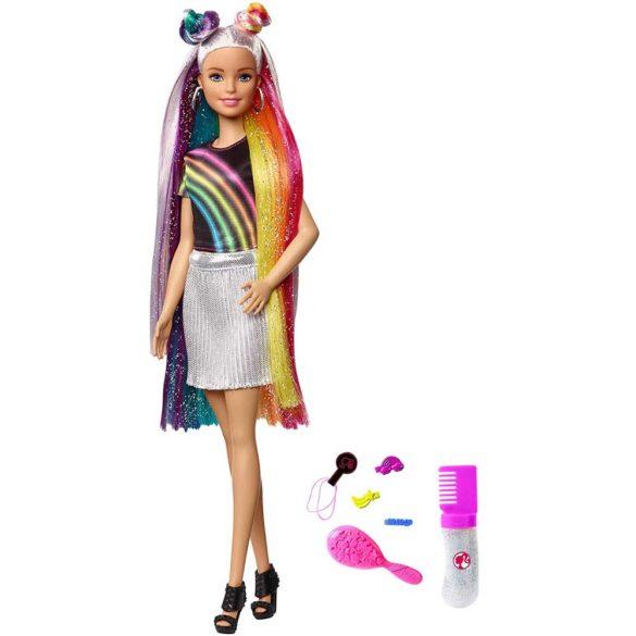 Papusa Barbie cu Par Curcubeu Stralucitor 1