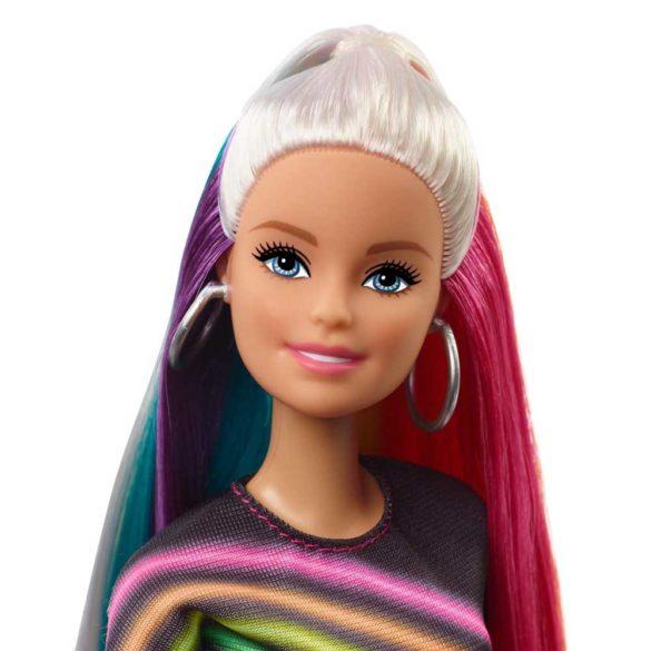 Papusa Barbie cu Par Curcubeu Stralucitor 3