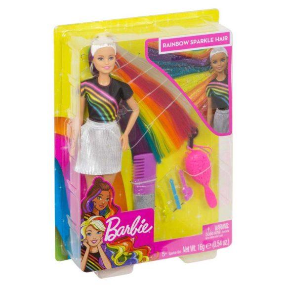 Papusa Barbie cu Par Curcubeu Stralucitor 9