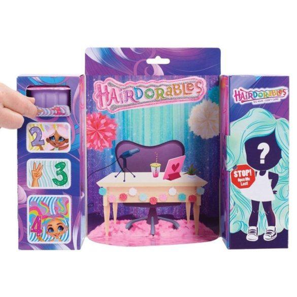 Papusa Hairdorables Seria 1 cu 11 surprize in cutie 6