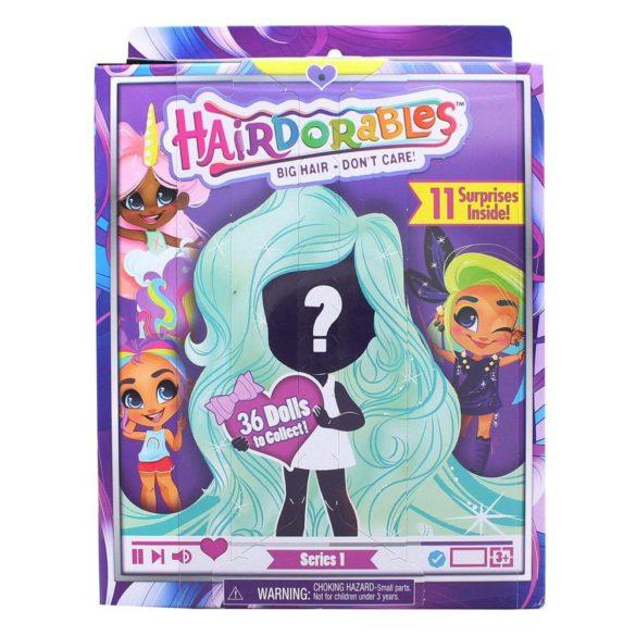 Papusa Hairdorables Seria 1 cu 11 surprize in cutie 7