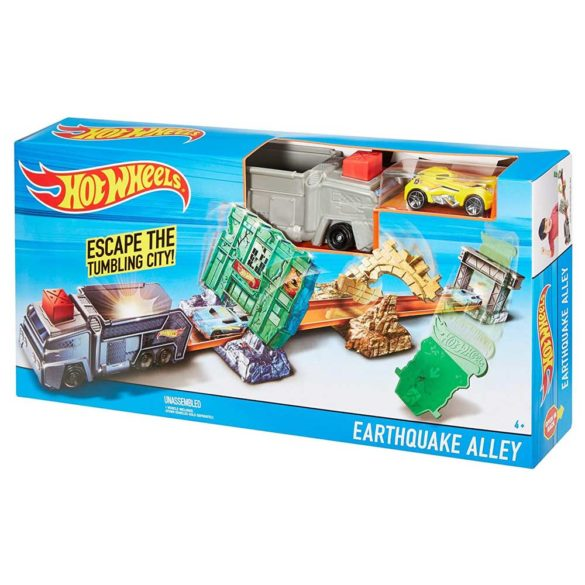 Pista Hot Wheels Earthquake Alley 6