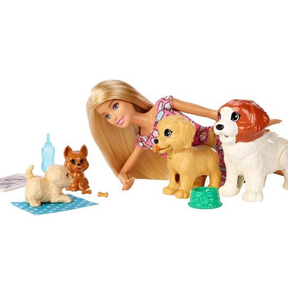Set de joaca Mattel Barbie Papusa si animale de companie 6