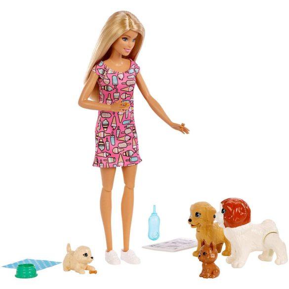 Set de joaca Mattel Barbie Papusa si animale de companie 7