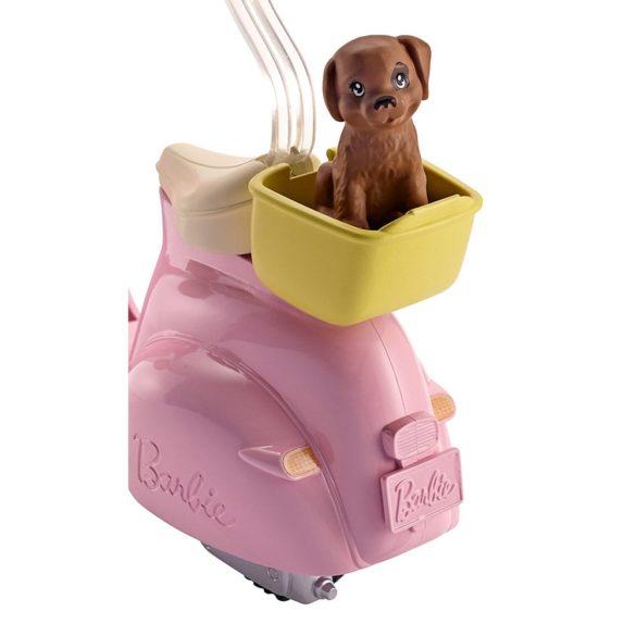 Set de joaca Mattel Barbie Scuter 4