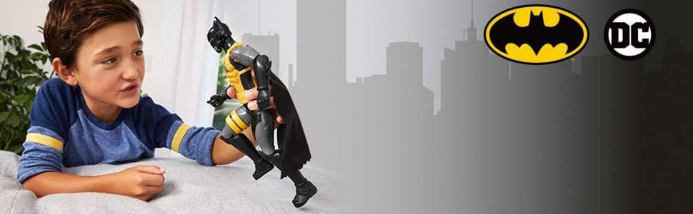 Batman Missions Figurina cu Armura Galbena si Miscari Reale