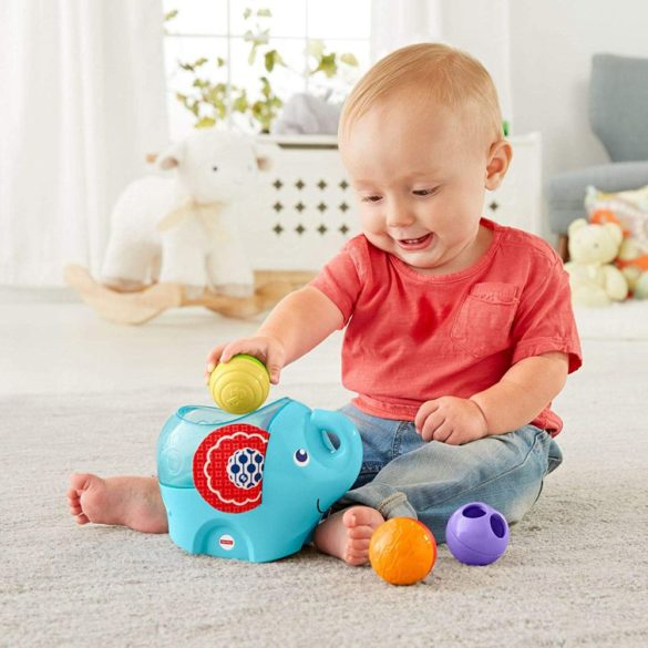 Fisher Price Elefantul Roly Poly 6