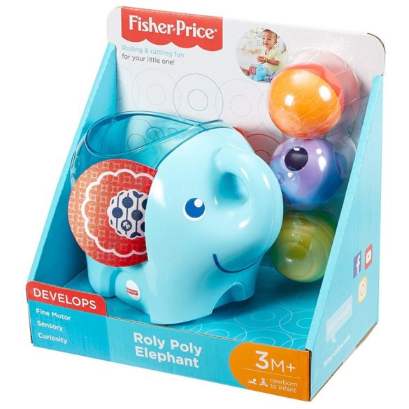 Fisher Price Elefantul Roly Poly 7