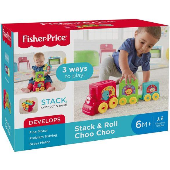 Fisher Price Jucarie de Stivuit Trenuletul Choo Choo 9