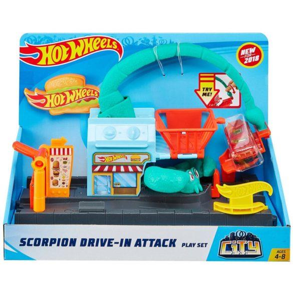 Hot Wheels City Pista Parcul cu Scorpion 9
