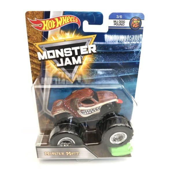 Masinuta Monster Jam Monster Mutt cu Obstacol 2