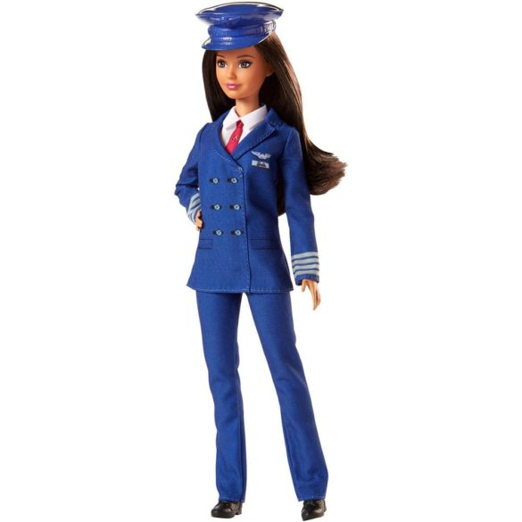 Papusa Barbie Career cu uniforma de Pilot FJB10 1