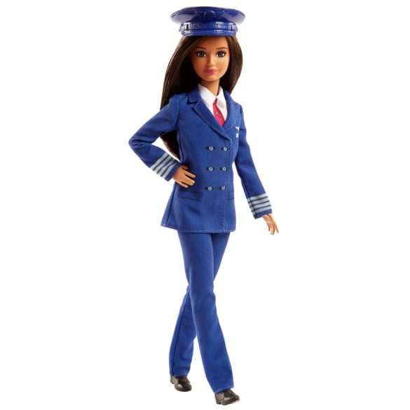 Papusa Barbie Career cu uniforma de Pilot FJB10 2