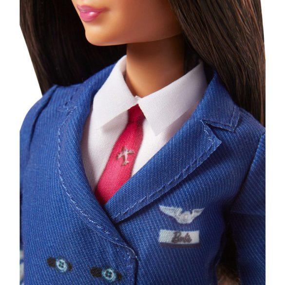 Papusa Barbie Career cu uniforma de Pilot FJB10 5