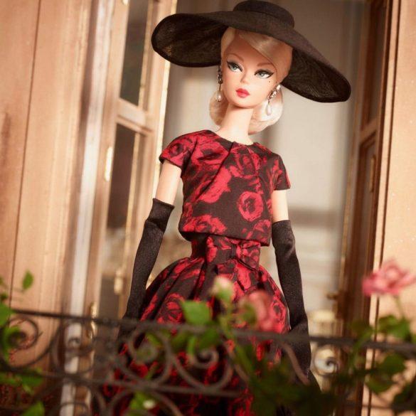 Papusa Barbie Signature Elegant Rose Cocktail Dress 1
