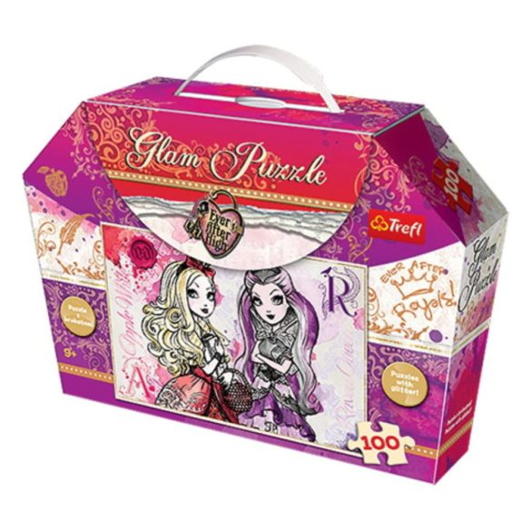 Puzzle Stralucitor Ever After High 100 piese 41 x 27.8 cm 1