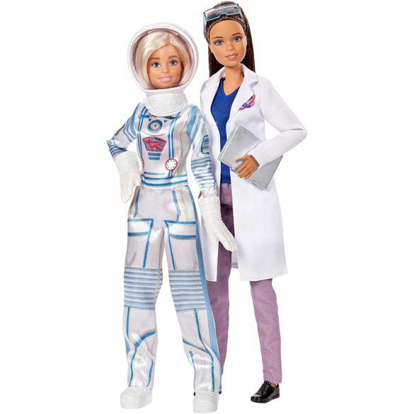 Set Barbie 2 Papusi Astronaut si Om de Stiinta 2