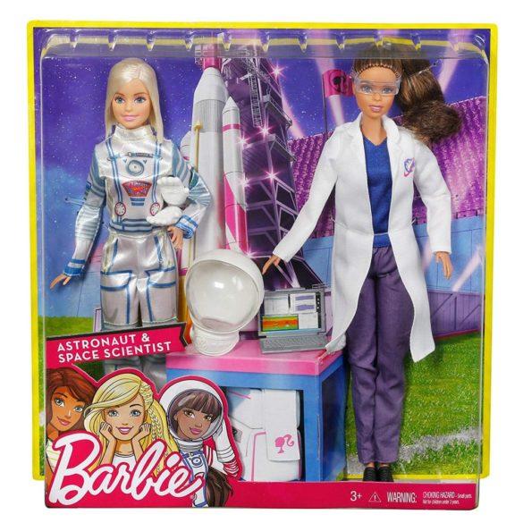 Set Barbie 2 Papusi Astronaut si Om de Stiinta 4