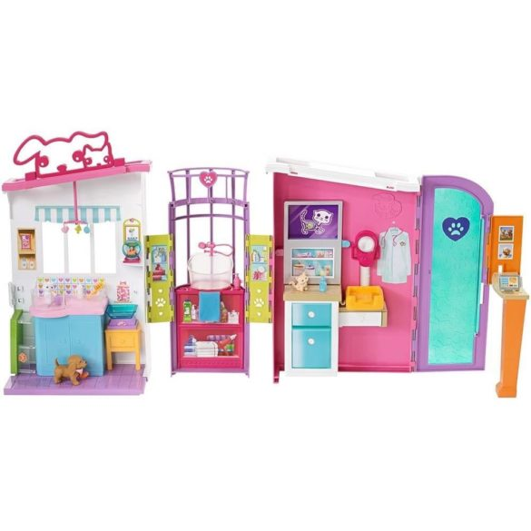 Barbie Centru de Ingrijire pentru Animale de Companie 2