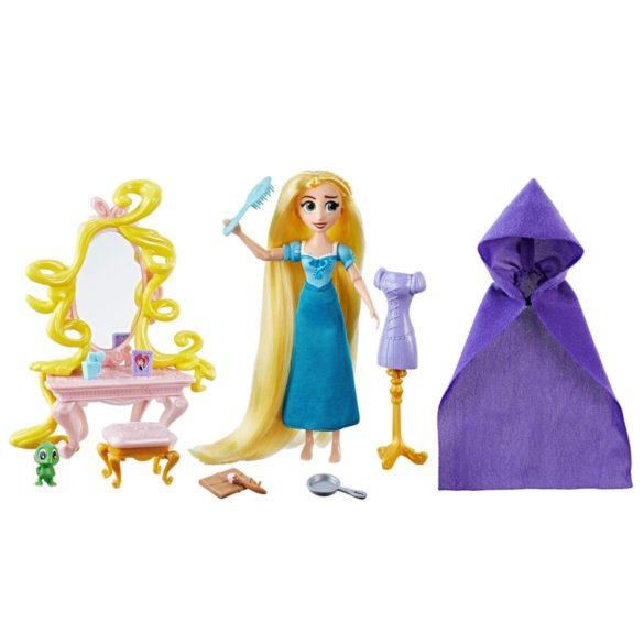 Disney O Poveste Incalcita Papusa Rapunzel si Setul de Aranjat 1