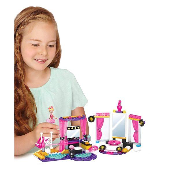 Mega Bloks Set de Construit Barbie Studioul de Balet 6