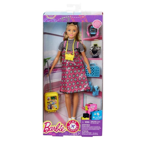 Papusa Barbie Colectia Pink Passport 4