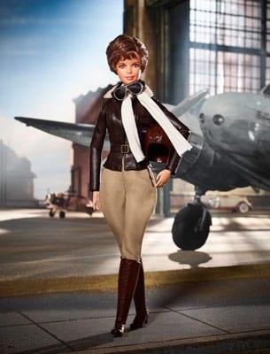 Papusa de Colectie Barbie Inspiring Women Amelia Earhart