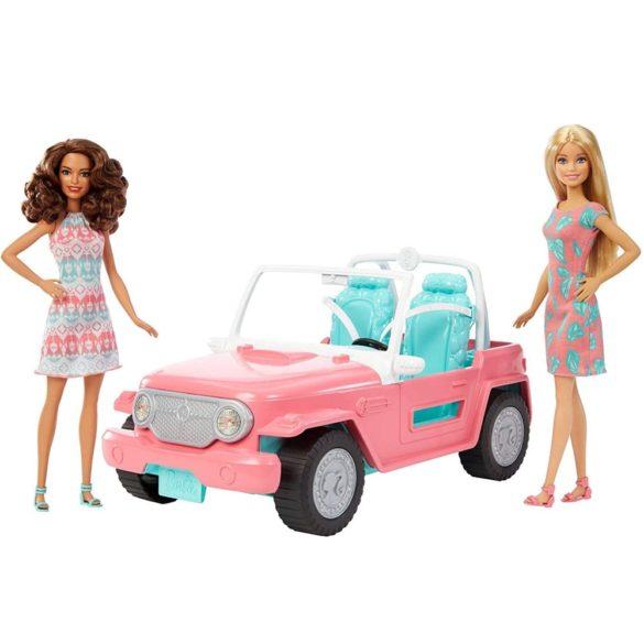 Barbie Masina Jeep cu Doua Papusi FPR59